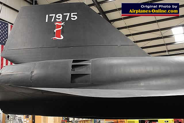 SR-71, S/N 17975, on display at the March Field Air Museum in California