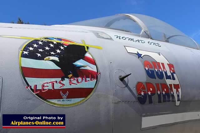 "F-15 Eagle ""Gulf Spirit"" S/N 74124 at Eglin AFB, Florida"