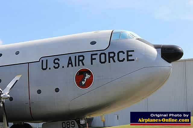 U.S. Air Force C-124C Globemaster II, S/N 51-089, at the Museum of Aviation, Robins AFB, Georgia