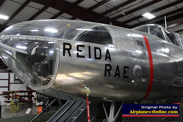 "A-26C Invader ""Reida Rae"" S/N 43-22499 at the New England Air Musem in Windsor Locks, CT"