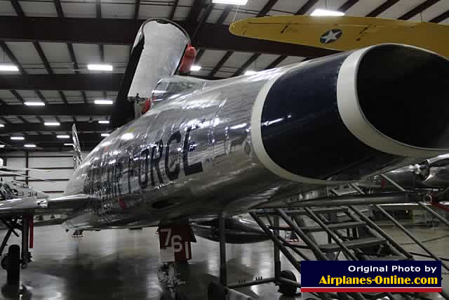 F-100 Super Sabre at the New England Air Museum