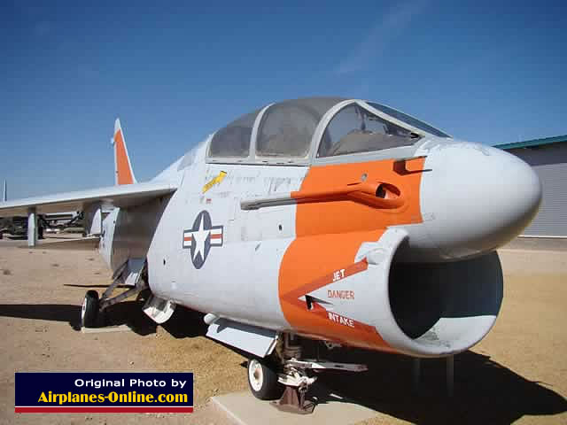LTV Corsair II Bureau Number 154407  in Albuquerque at the National Museum of Nuclear Science