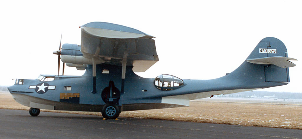 Consolidated OA-10 Catalina 433879 at the National Museum of the United States Air Force in Dayton, Ohio