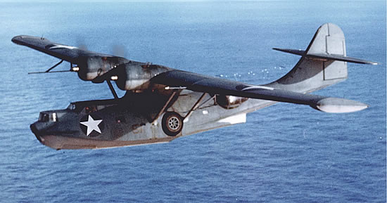 Consolidated Catalina PBY-5A in flight