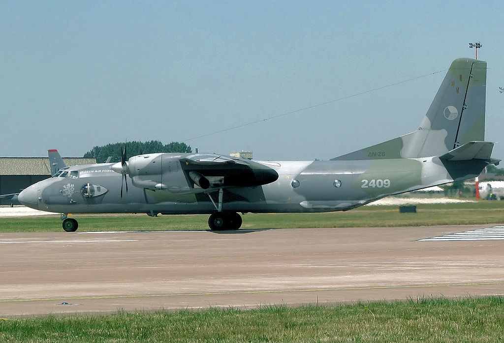 Antonov An-26 No. 2409 of the Czech Air Force