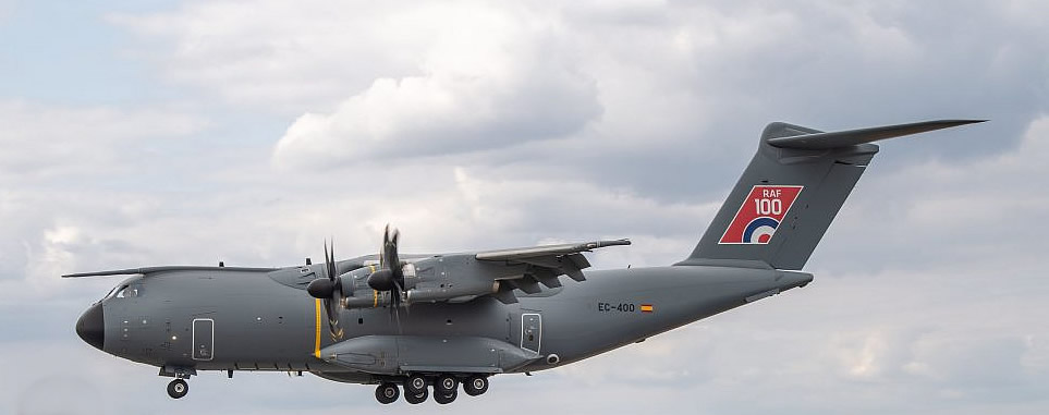 A400M of the UK Royal Air Force