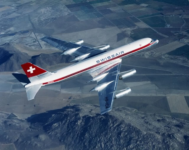 Swiss Air Convair 990