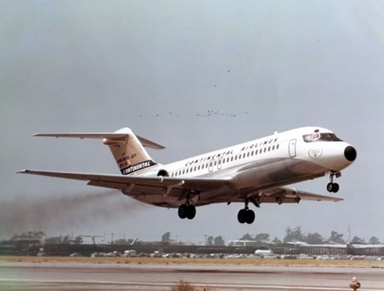 Douglas DC-9 of Continental Airlines