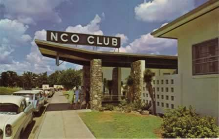Carswell Air Force Base NCO CLub, circa late 1950s, Fort Worth, Texas