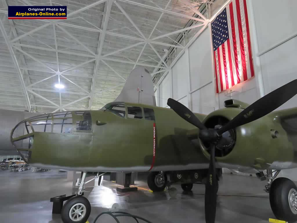 B-25N Mitchell, S/N 44-30363, on display at the Strategic Air Command & Space Museum, Nebraska