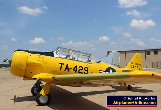 North American T-6 Texan, S/N 51-14429, TA-429, N729AM