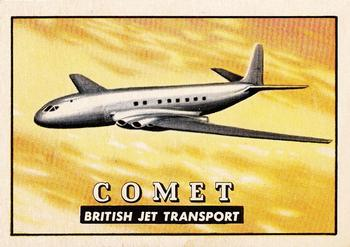 De Havilland Comet from the Topps Wings Friend or Foe Trading Card Series