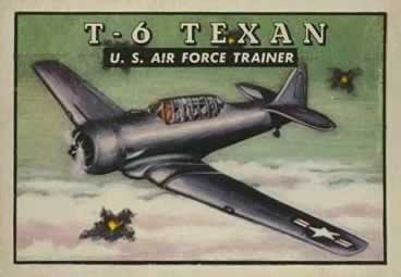 North American T-6 Texan TOPPS Card #47