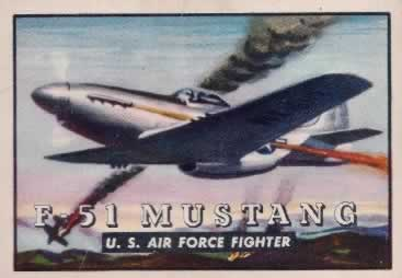 P-51 Mustang TOPPS Card #5