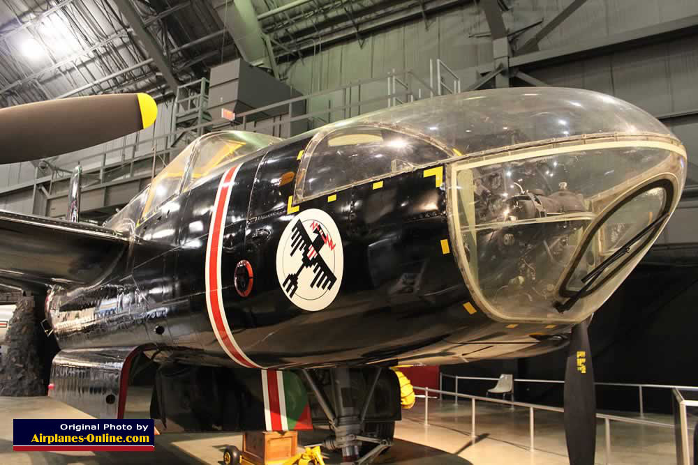 B-26C Invader, S/N 435733, on display at the Museum of the United States Air Force, Dayton, Ohio