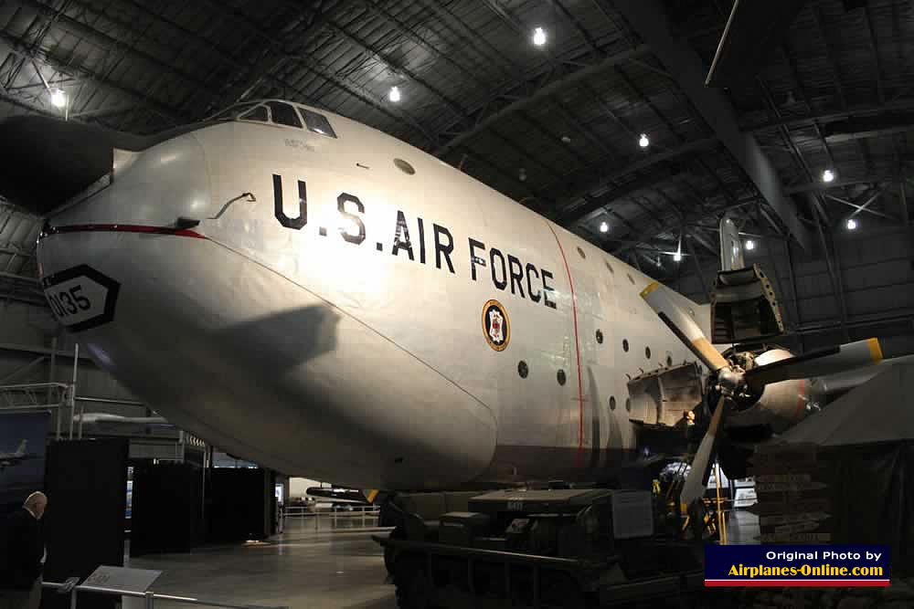 C-124C Globemaster, S/N 52-1066, painted as 51-0135, at the Museum of the United States Air Force