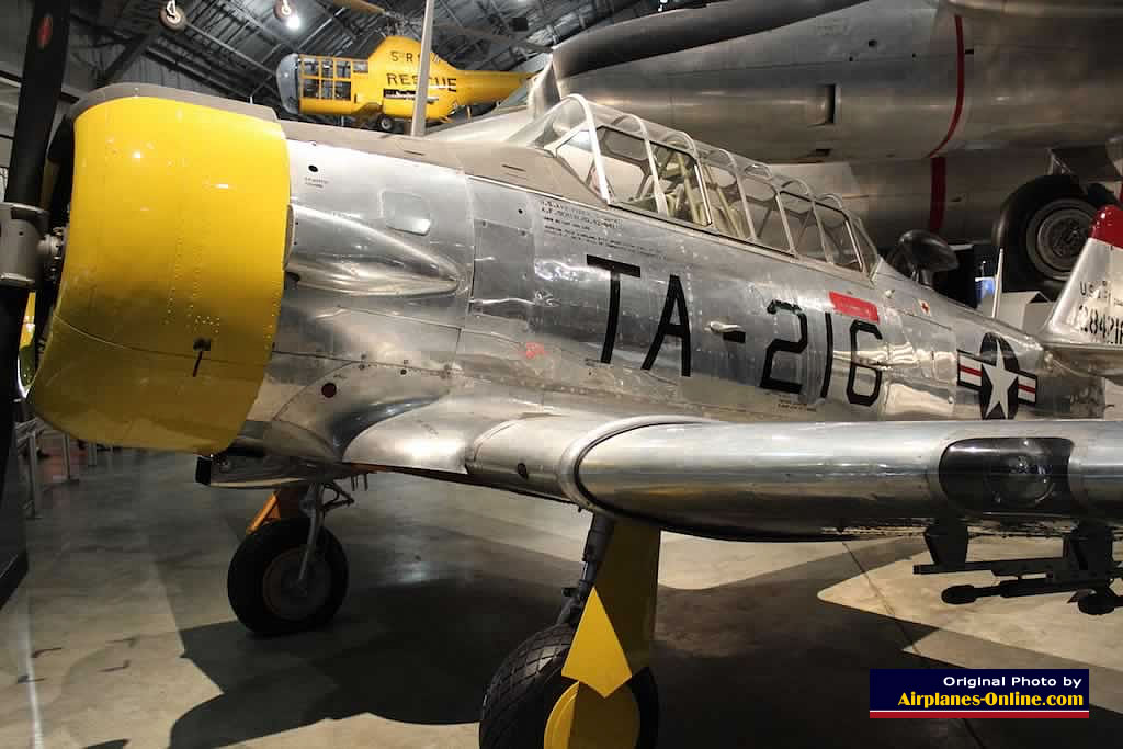 T-6G Texan, Buzz Number TA-216, Museum of the U.S. Air Force, Dayton, Ohio