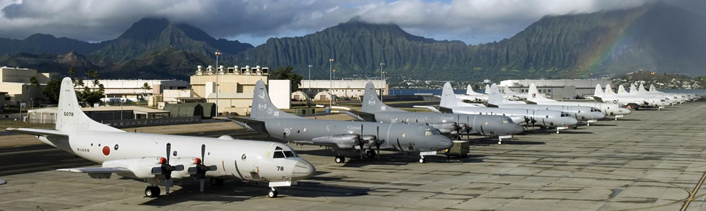 P-3 Orions of the U.S. Navy and allied nations