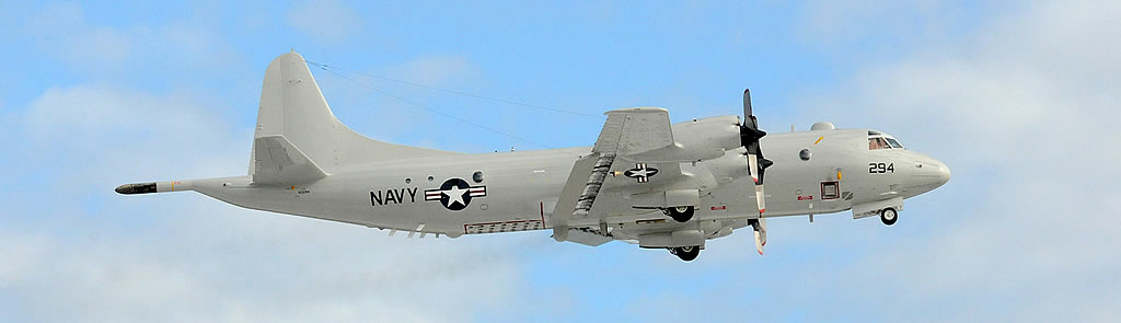 U.S. Navy P-3C Orion 294 in flight