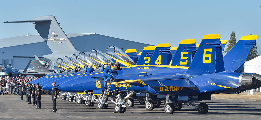 U.S. Navy Blue Angels preparing for another air show